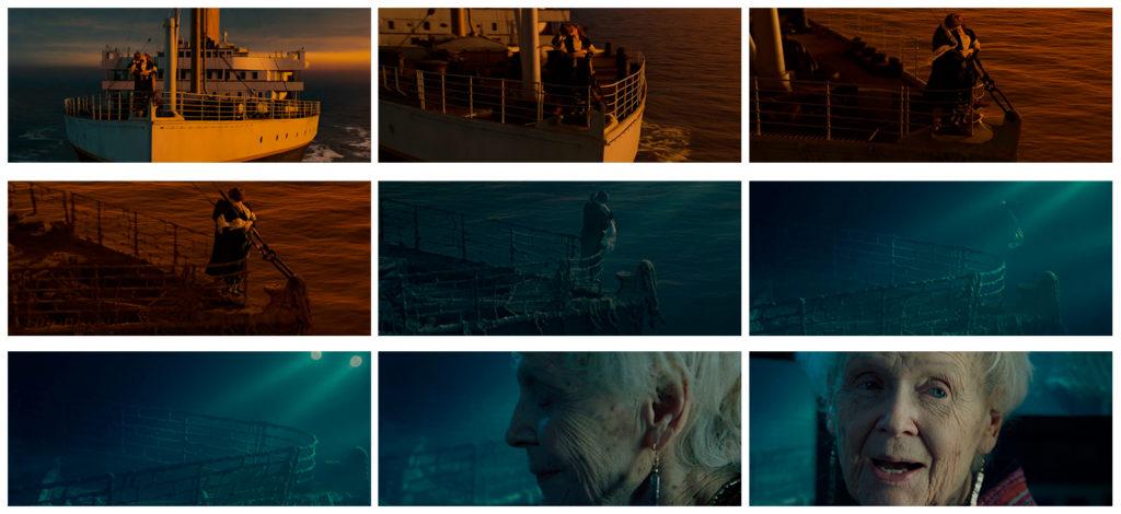 A) Cena do Beijo em Titanic [Imagem cedida por Rumenig]