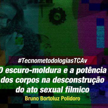 #TecnometodologiasTCAv: O escuro-moldura e a potência dos corpos na desconstrução do ato sexual fílmico.