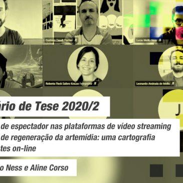 Seminário de Tese Linha de Pesquisa Mídias e Processos Audiovisuais 2020/2