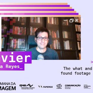 Xavier Aldana Reyes aborda o terror found footage na palestra de abertura da 18a Semana da Imagem
