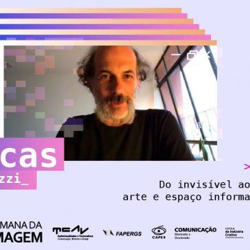 Lucas Bambozzi discute arte e espaço informacional no terceiro dia da XVIII Semana da Imagem