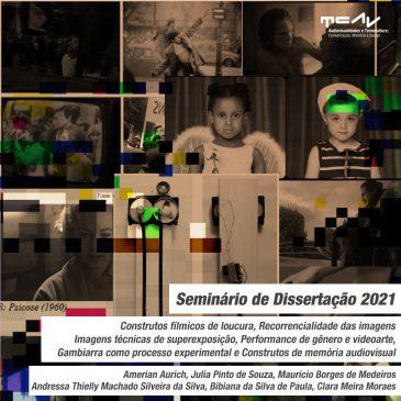 Seminário de Dissertação 2021