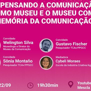 15ª Primavera dos Museus: Entrevista com o diretor do Museu da Comunicação Hipólito José da Costa, Welington Ricardo Machado da Silva